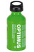Optimus Brennstoff-Flasche S - Hornillo camping - 0,4l con cierre de seguridad para niños verde